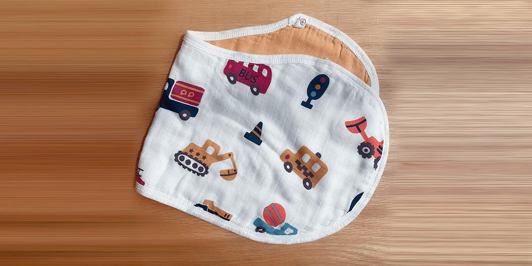 ผ้าพาดบ่า-ผ้ากันเปื้อนเด็ก-ผ้าซับน้ำลายเด็ก