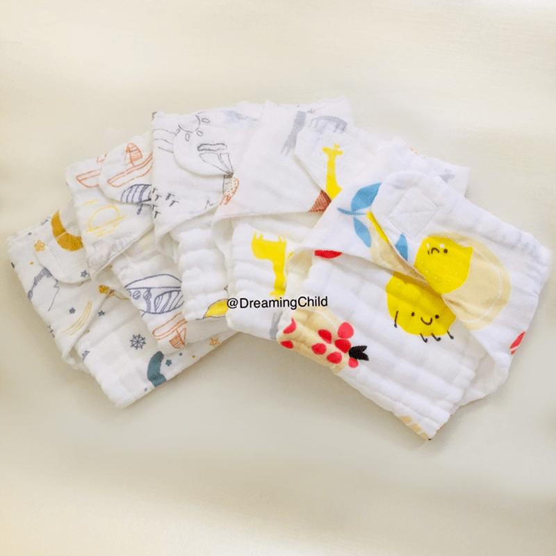 กางเกงผ้าอ้อมผ้า set-A